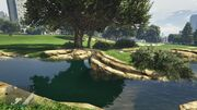 Spaceship Parts GTAVe 32 Golf Course Island