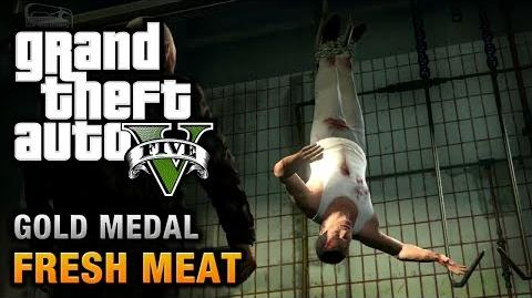 GTA 5 - Mission 59 - Fresh Meat 100% Gold Medal Walkthrough