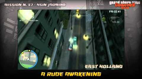 GTA Chinatown Wars - Walkthrough - Mission 57 - A Rude Awakening