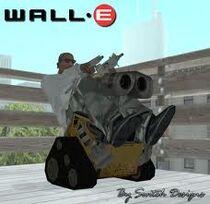 Wall-e bike