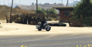 Officer Jernigan GTAO Chopper Tail Spawn