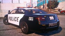 Vapid Interceptor (Rear)-GTA V