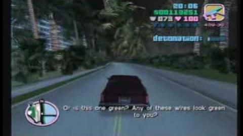 """GTA Vice City Mission 38 - """"Publicity Tour"""""""