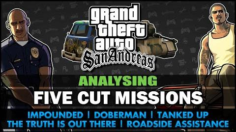 GTA San Andreas - Five Cut Missions - Feat. SWEGTA Analysis Commentaries PL Subs