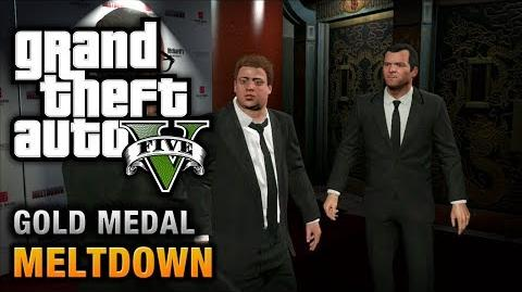GTA 5 - Mission 71 - Meltdown 100% Gold Medal Walkthrough