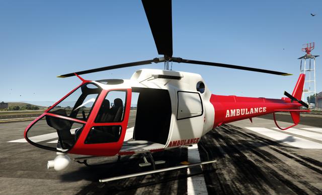 File:Air Ambulance GTA V PC Front.png