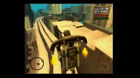 San Andreas Visiting Liberty City by Jetpack HD on PS2