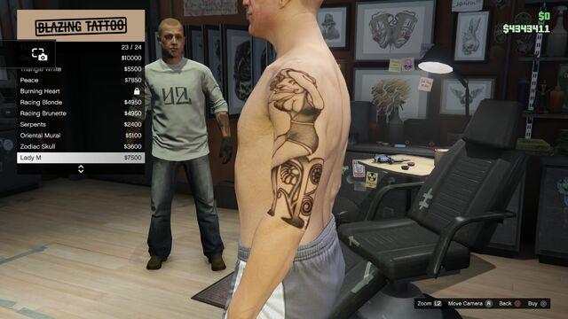 File:Tattoo GTAV Online Male Left Arrm Lady M.jpg