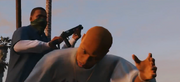 Franklin kicking a Balla-GTAV