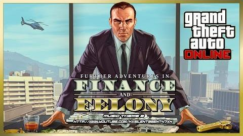 Grand Theft Auto GTA V 5 Online Finance and Felony - Power Play (Adversary Mode) Music Theme 8