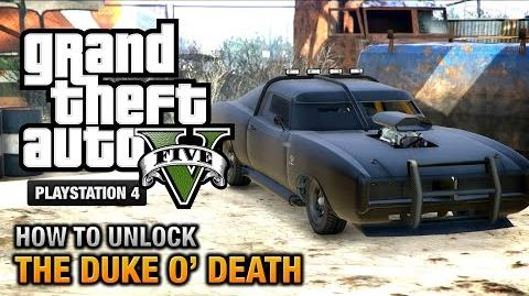 GTA 5 - How to unlock the Duke O' Death -PS4 & Xbox One