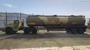 BarracksSemi Trailer GTAVpc Side