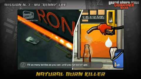 GTA Chinatown Wars - Walkthrough - Mission 7 - Natural Burn Killer
