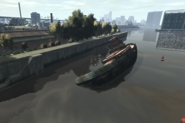 File:Wreck Tug1 GTAIV Wreckage from air.png