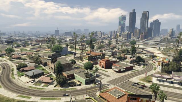 Grand Theft Auto V - Vinewood Racetrack Bleachers - Scrap 46 ...