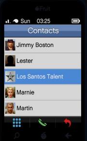 Director Mode GTAVpc Los Santos Talent Contact
