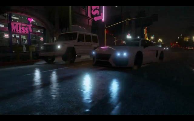 File:GTAV-whitesportcar-onroad-raining-frontsideview.png