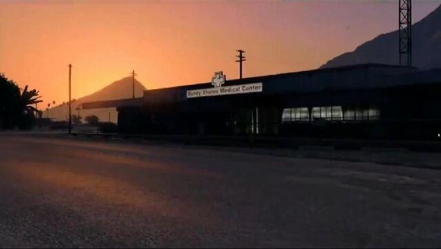 File:Sandy Shores Medical Centre-GTA V.jpg
