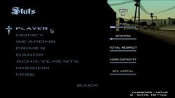 Statistics-GTASA-menu
