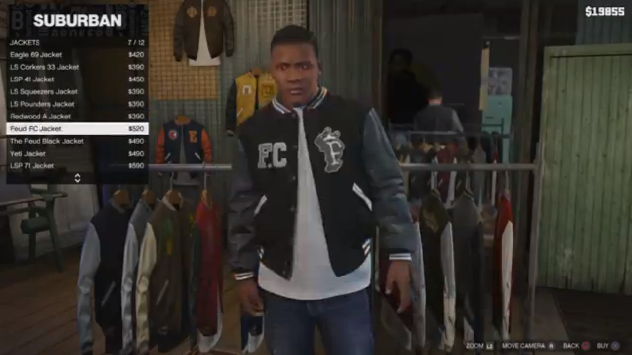 Grand Theft Auto  Best Clothing Store