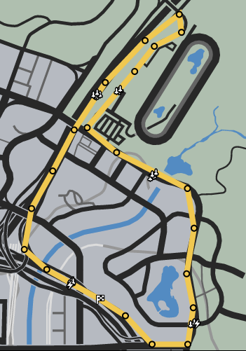 Trend Setting GTAO Race Map