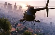 Buzzard-FlyingoverLosSantos-GTAV