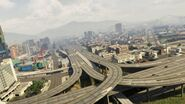 Interstate4Interstate5-GTAV-Intersection