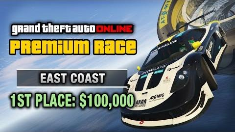 GTA Online - Premium Race 17 - East Coast (Cunning Stunts)