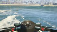 Seashark GTAVe 1st Person Perspective