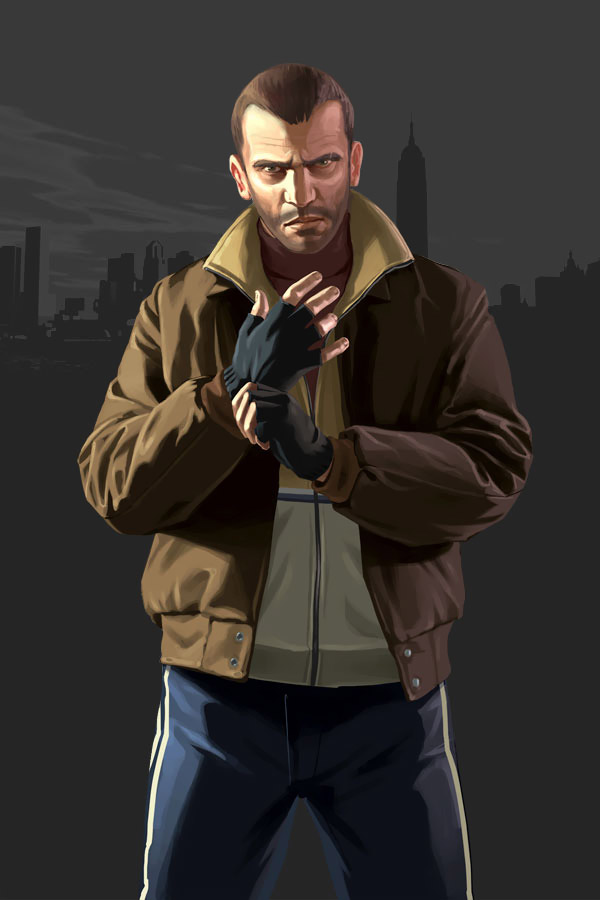 Artwork-NikoBellic-GTAIV