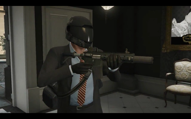 File:GTAV-loudrobbery-gameplay-assualtriflesuppressed-sideview.png
