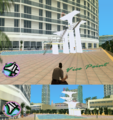 GTAVC HiddenPack 33 top diving tower E. of crescent hotel.png