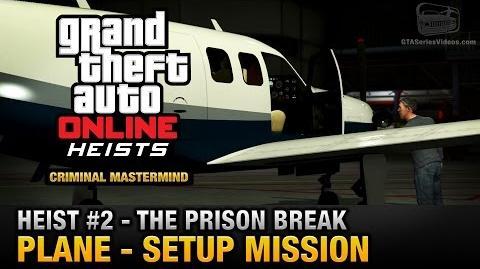 GTA Online Heist 2 - The Prison Break - Plane (Criminal Mastermind)