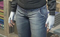 GTAO Gloves Female TanWool