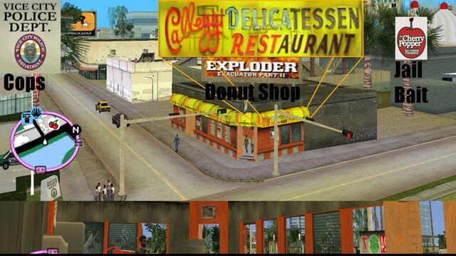 File:GTAVC HiddenPack 76 N behind counter of Calleggi Deli rest+Donut Shop, S of Cherry Popper.jpg