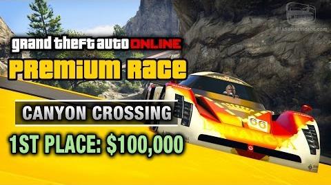 GTA Online - Premium Race 6 - Canyon Crossing (Cunning Stunts)