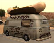 Hotdog-GTASA-rear