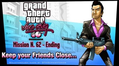 GTA Vice City - iPad Walkthrough - Ending Final Mission - Keep Your Friends Close...