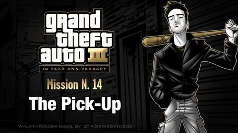 GTA 3 - iPad Walkthrough - Mission 14 - The Pick-Up