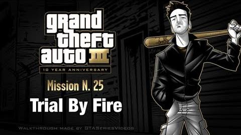 GTA 3 - iPad Walkthrough - Mission 25 - Trial By Fire