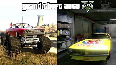 GTA 5 - Cheval Marshall & Stock Car Races Gameplay (How to unlock) -PS4 & Xbox One-