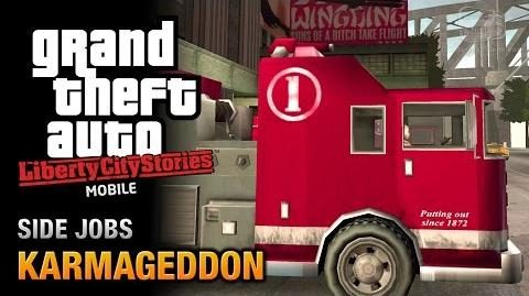GTA Liberty City Stories Mobile - Karmageddon (Side Mission)
