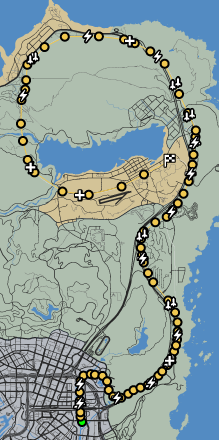 Riding The Tracks GTAO Verified Map