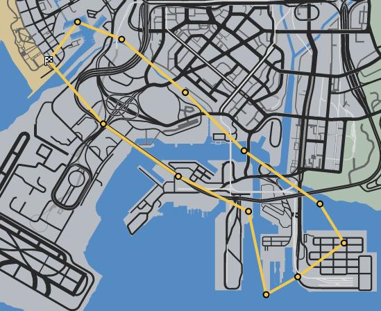 Burn Your Bridges GTAO Race Map