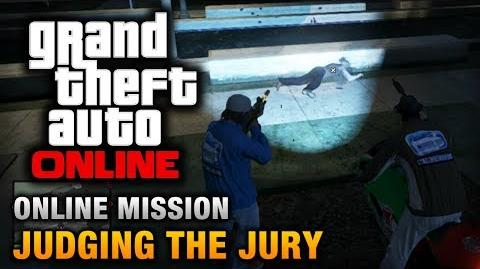 GTA Online - Mission - Judging the Jury Hard Difficulty