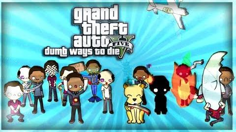 GTA V Dumb Ways to Die PARODY!