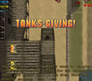 Tanks-Giving!