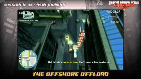 GTA Chinatown Wars - Walkthrough - Mission 35 - The Offshore Offload