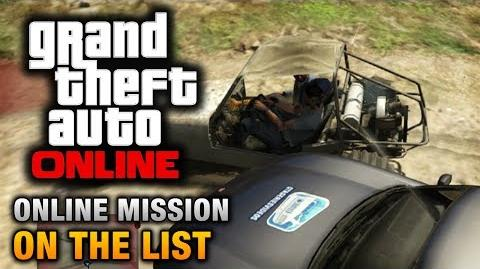 GTA Online - Mission - On the List Hard Difficulty
