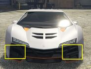 Zentorno GTAVe Missing Aerodynamics